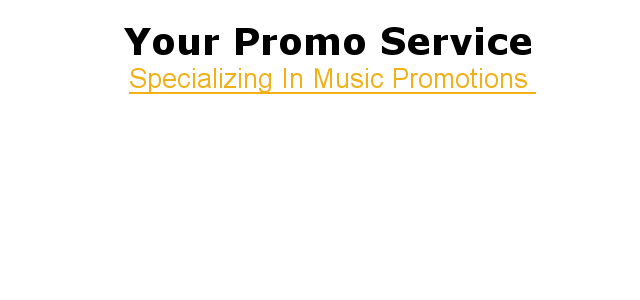 We Specialize In Online Music Promotions For Social Websites.
